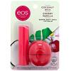 EOS, Мягкий бальзам для губ с ши, кокосовое молоко и ваниль с вишней, 2 шт. в упаковке, 11 г (0,39 унции)