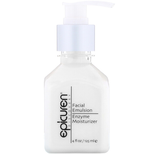 Epicuren Discovery, Facial Emulsion Enzyme Moisturizer, 4 fl oz (125 ml)
