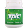 Epic Dental, Xylitol Gum, Sugar Free, Spearmint, 50 Pieces