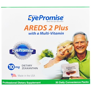 EyePromise, AREDS 2 Plus with a Multi-Vitamin, 30 Daily Convenience Packs