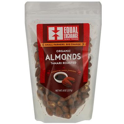 Купить Equal Exchange Organic Tamari Roasted Almonds, 8 oz (227 g)