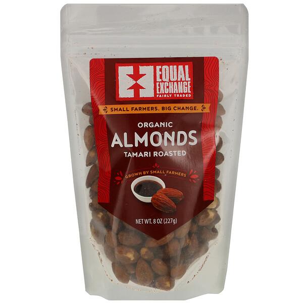Equal Exchange, Organic Tamari Roasted Almonds, 8 oz (227 g)