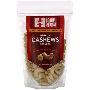 Икуал Эксчэндж, Organic Natural Cashews, 8 oz (227 g) отзывы