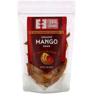 Икуал Эксчэндж, Organic Dried Mango, 5 oz (142 g) отзывы