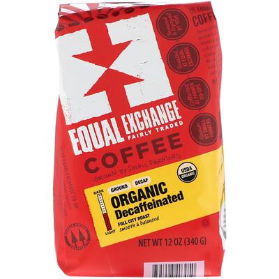 Купить Equal Exchange Organic, Coffee, Decaffeinated, Ground, 12 oz (340 g)