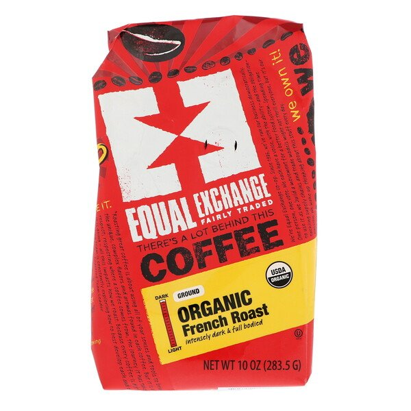 Equal Exchange, Organic, Coffee, French Roast, Ground, 10 oz (283.5 g)
