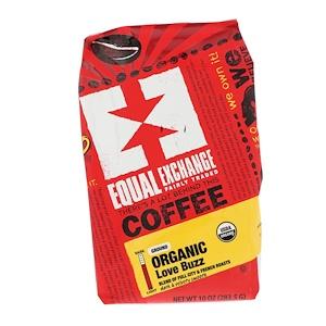 Икуал Эксчэндж, Organic, Coffee, Love Buzz, Ground, 10 oz (283.5 g) отзывы покупателей