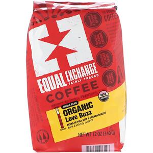 Икуал Эксчэндж, Organic, Coffee, Love Buzz, Whole Bean , 12 oz (340 g) отзывы