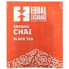 Equal Exchange, 有機印度茶,紅茶,20 茶包,1.41 盎司(40 克)
