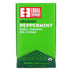 Equal Exchange, Organic Peppermint Herbal Tea, Caffeine Free, 20 Tea Bags, 0.99 oz (28 g)