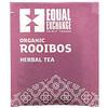 Equal Exchange, Organic Rooibos, Herbal Tea, 20 Tea Bags, 1.41 oz (40 g)