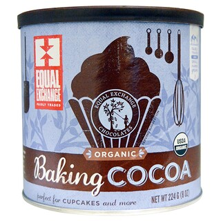 Equal Exchange, Organic Baking Cocoa, 8 oz (224 g)