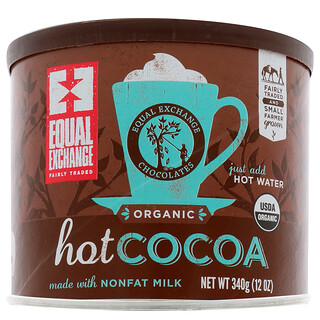 Equal Exchange, Organic Hot Cocoa, 12 oz (340 g)