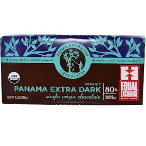 Икуал Эксчэндж, Organic Panama Extra Dark Chocolate, 3.5 oz (100 g) отзывы покупателей