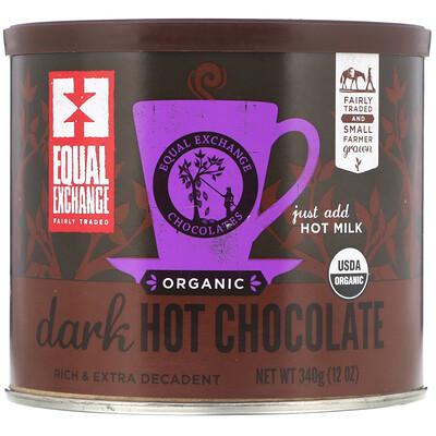 Купить Equal Exchange Organic Dark Hot Chocolate, 12 oz (340 g)