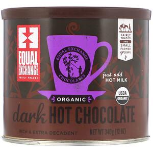 Икуал Эксчэндж, Organic Dark Hot Chocolate, 12 oz (340 g) отзывы покупателей