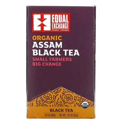 Купить Equal Exchange Organic Assam Black Tea, 20 Tea Bags, 1.41 oz (40 g)