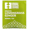 Equal Exchange, Organic Lemongrass Ginger Herbal Tea, Caffeine-Free, 20 Tea Bags, 1.05 oz (30 g)