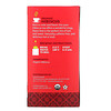 Equal Exchange, Organic Hibiscus Herbal Tea, Caffeine-Free, 20 Tea Bags, 1.41 oz (40 g)