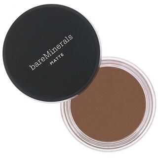 bareMinerals, Base de maquillaje mate, FPS15, Golden Dark25 (dorado oscuro), 6g (0,21oz)