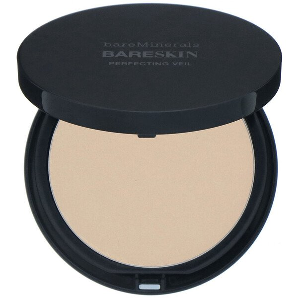 bareMinerals, BARESKIN, Perfecting Veil, Light/Medium, 0.3 oz (9 g) (Discontinued Item)