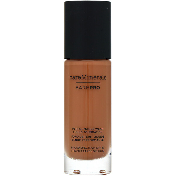 BAREPRO, Performance Wear, Liquid Foundation, SPF 20, Chai 26, 1 fl oz (30 ml)