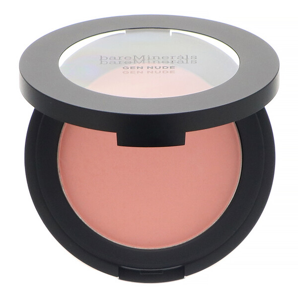bareMinerals, Gen Nude Powder Blush, Pretty In Pink, 0.21 oz (6 g)