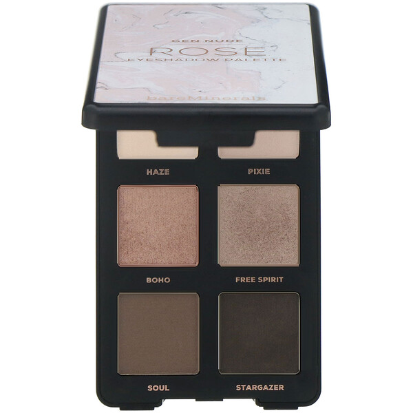 GEN NUDE, Eyeshadow Palette, Rose, 0.18 oz (6.6 g)