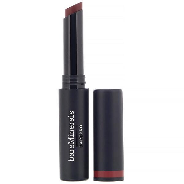 bareMinerals, BAREPRO, Longwear Lipstick, Cranberry,  0.07 oz (2 g)