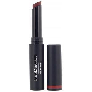 bareMinerals, BAREPRO, Longwear Lipstick, Cranberry,  0.07 oz (2 g) отзывы