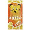 Coromega, Kids, Omega-3, Tropical Orange + Vitamin D, 30 Single Serving Packets, (2.5 g)