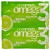 Coromega, Omega3 Squeeze, Lemon Lime Flavor, 90 Squeeze Packets, (2.5 g) Each (Discontinued Item)