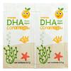 Coromega, DHA Algal Oil, Orange, 14 Single Serve Packets, 2.5 g Each