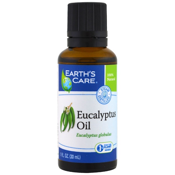 Eucalyptus Oil, 1 fl oz (30 ml)