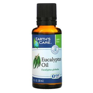 Ёртс кэр, Eucalyptus Oil, 1 fl oz (30 ml) отзывы покупателей