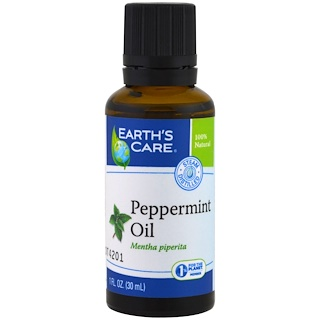 Earth's Care, Peppermint Oil, 1 fl oz (30 ml)