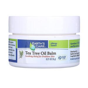 Ёртс кэр, Tea Tree Oil Balm, 0.12 oz (3.4 g) отзывы покупателей