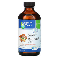 Earth's Care, 甜杏仁油,8 液量盎司(236 毫升)