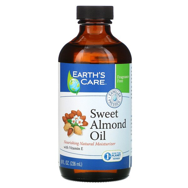 Earth's Care, Sweet Almond Oil, 8 fl oz (236 ml)