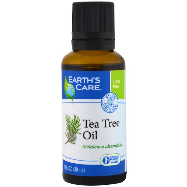 Earth's Care, Tea Tree Oil, 1 fl oz (30 ml)