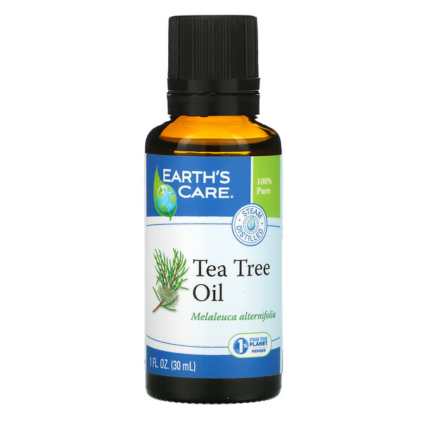 Earth's Care, Tea Tree Oil, 1 fl oz (30 ml) (Discontinued Item)