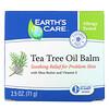 Earth's Care, Tea Tree Oil Balm, with Shea Butter and Vitamin E, 2.5 oz (71 g)