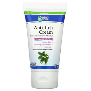 Ёртс кэр, Anti-Itch Cream, with Shea Butter and Almond Oil, 2.4 oz (68 g) отзывы
