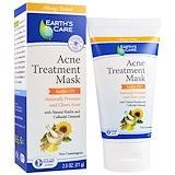 Отзывы о Earth's Care, Лечебная маска от угревой сыпи, сера 5%, 2,5 унции (71 г)