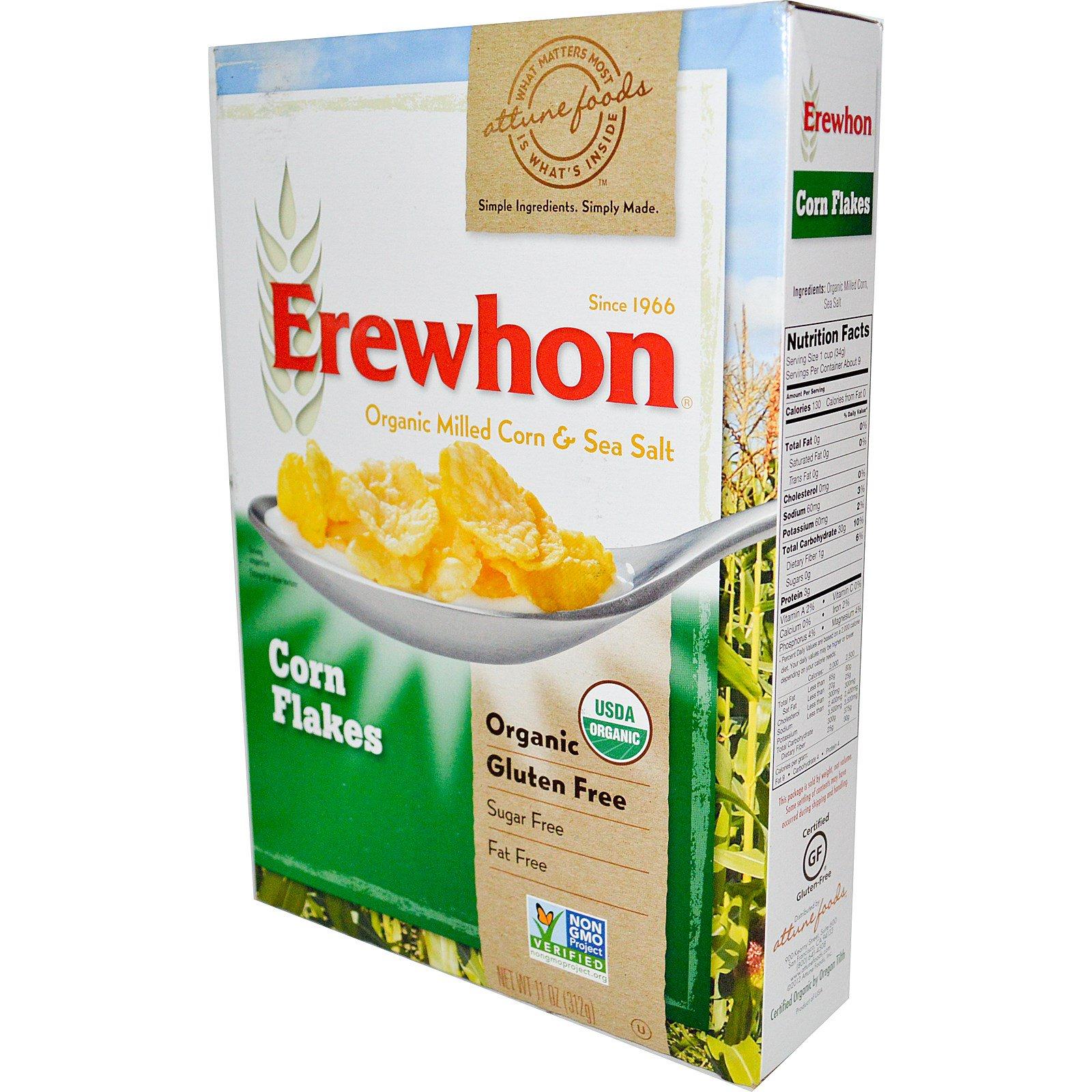 Erewhon, Кукурузные хлопья, 312 г (11 унций)