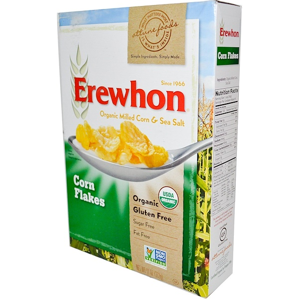 Erewhon, Corn Flakes, 11 oz (312 g) (Discontinued Item)