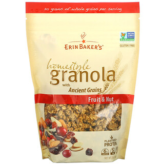 Erin Baker's, Homestyle Granola with Ancient Grains, Fruit & Nut, 12 oz (340 g)
