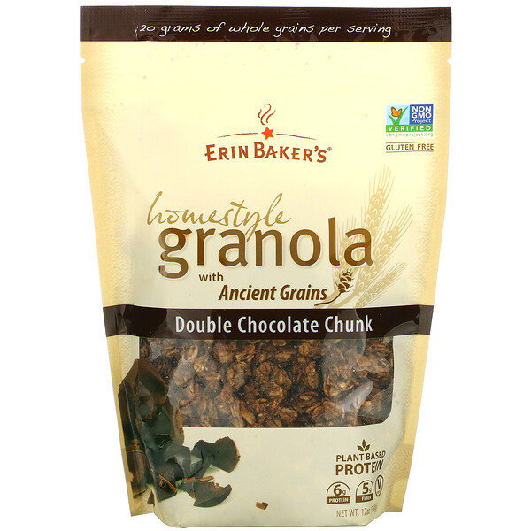 Homestyle Granola with Ancient Grains, Double Chocolate Chunk, 12 oz (340 g)
