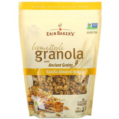 Erin Baker's Homestyle Granola with Ancient Grains, Vanilla Almond Quinoa, 12 oz (340 g)