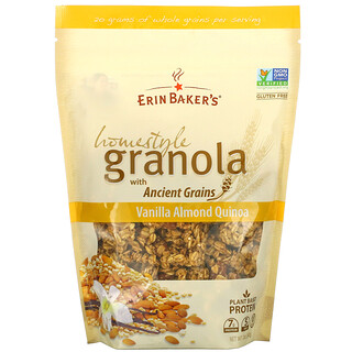 Erin Baker's, Homestyle Granola with Ancient Grains, Vanilla Almond Quinoa, 12 oz (340 g)